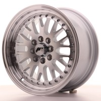 Japan Racing JR10 15x7 ET30 4x100/108 Machined Sil