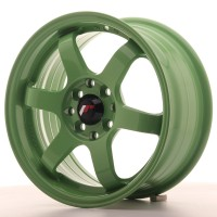 Japan Racing JR3 15x7 ET40 4x100/114 Green