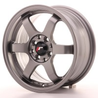 Japan Racing JR3 15x7 ET25 4x100/108 Gun Metal